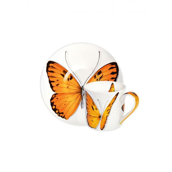 Taitu Freedom Caffe Espresso Farfalla Arancione