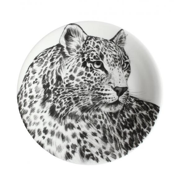 Taitu Wild Spirit Piatto Frutta Dessert Leopardo