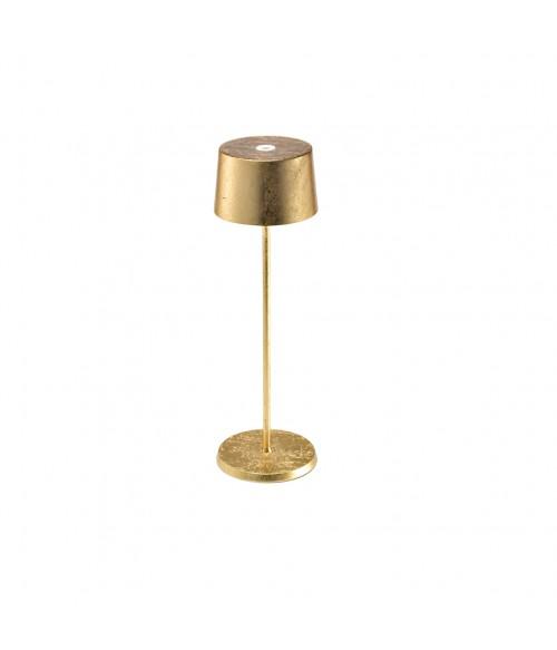 Zafferano Olivia Pro Tischlampe Gold Erresse Shop