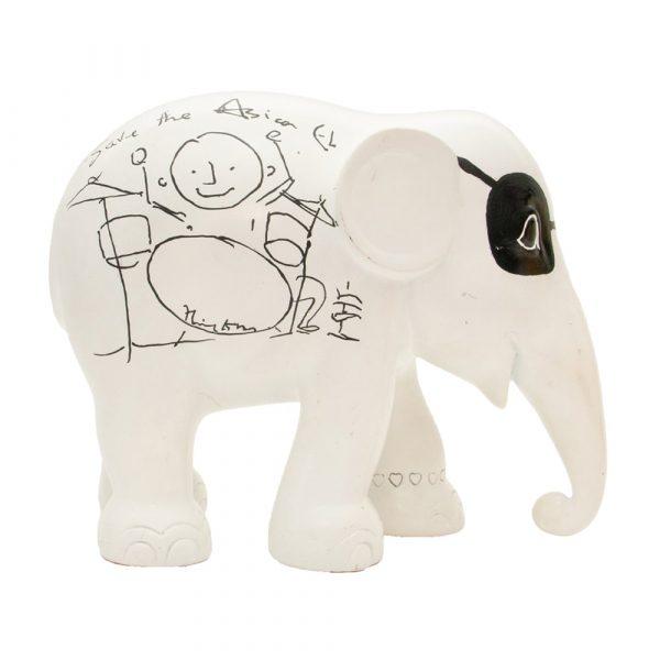 ELEPHANT PARADE Elvis Elefant 10 cm