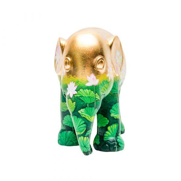 ELEPHANT PARADE Golden Lotus Elefant