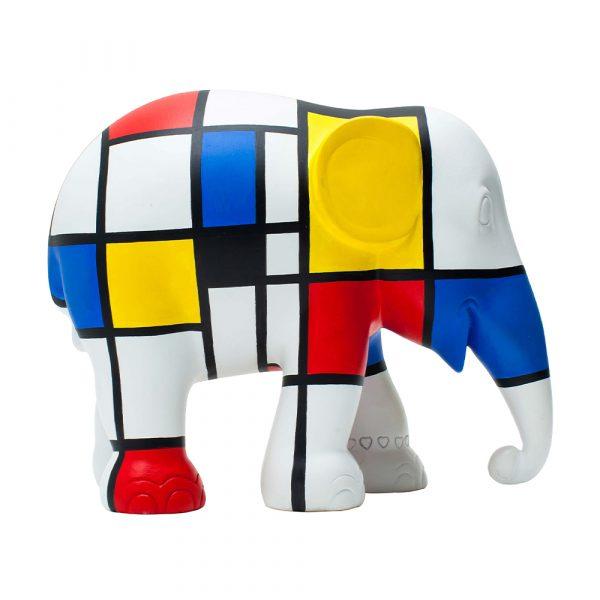 ELEPHANT PARADE Hommage to Mondriaan Elefant