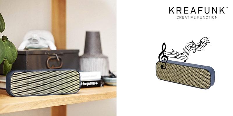 Landing Page Kreafunk Audio