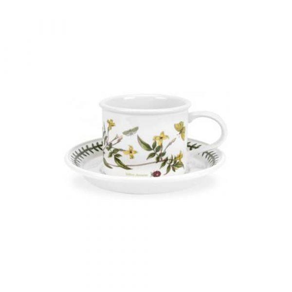 PORTMEIRION Botanic Garden Set 6 Coffee Cups with Saucers
