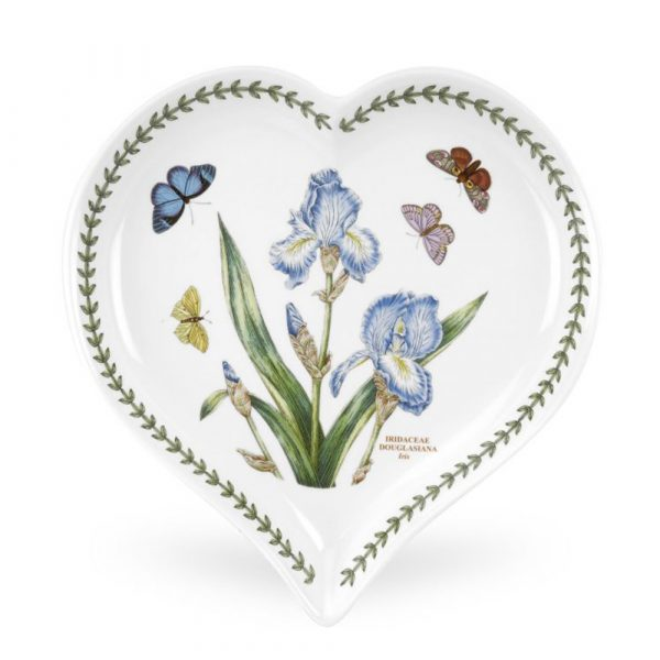 PORTMEIRION Botanic Garden Heart Tray
