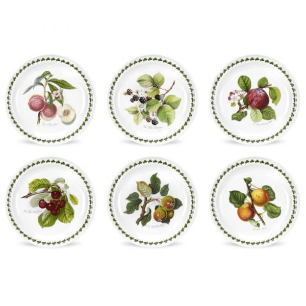 PORTMEIRION Pomona Set 6 Dessert Plates