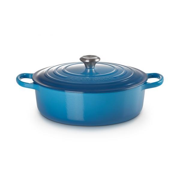 Le Creuset Cast Iron Risotto 30 cm Blue Marseille 2