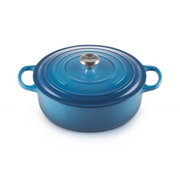 Le Creuset Cast Iron Risotto 30 cm Blue Marseille