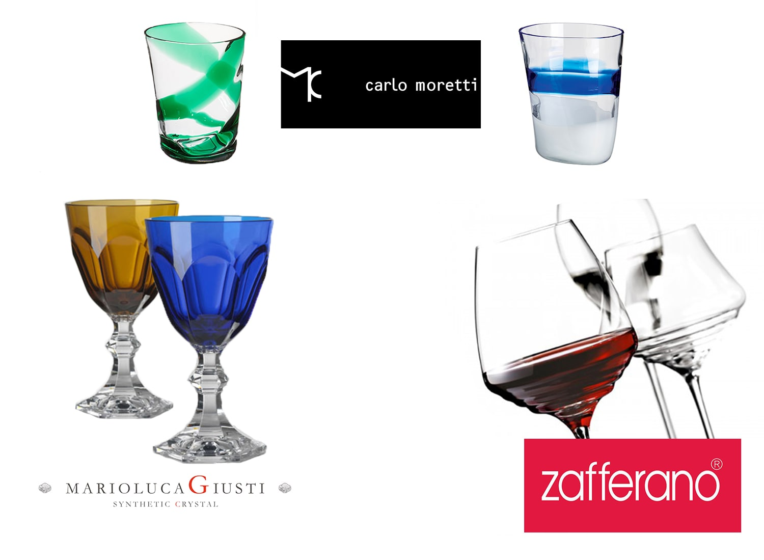 Landing Page Dishes and Glasses