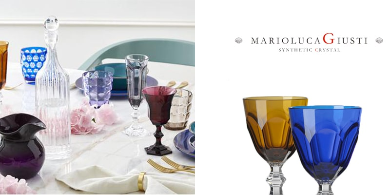 Landing Page Dishes and Glasses Giusti