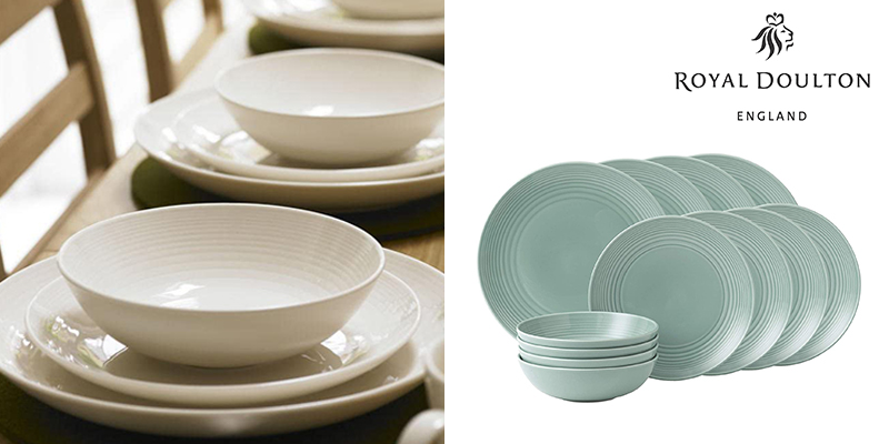 Landing Page Dishes and Glasses Royal Doulton