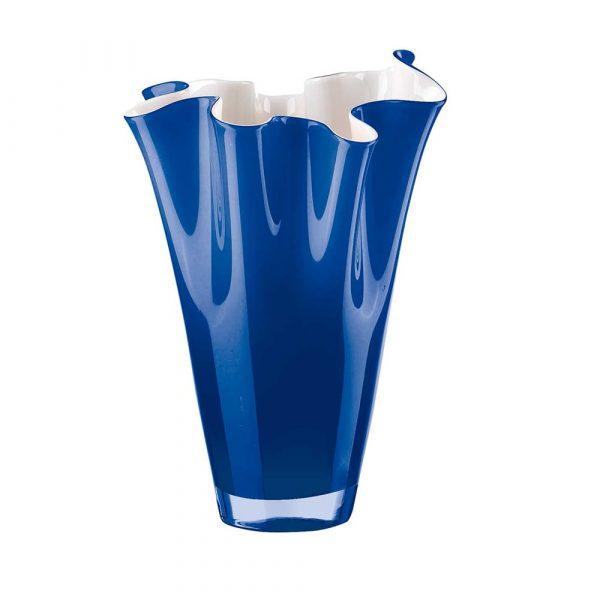 ONLYLUX Wave Vase Opal H30 cm Blue