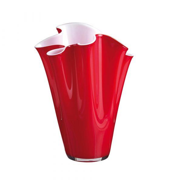 ONLYLUX Wave Vase Opal H30 cm Red