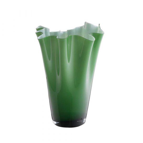 ONLYLUX Wave Vase Opal H30 cm Green