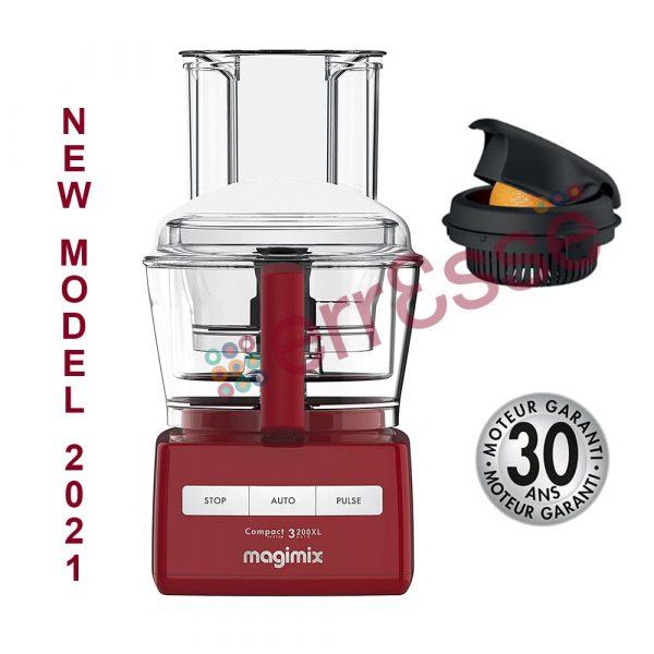 MAGIMIX Robot 3200XL Rosso Modello 2021