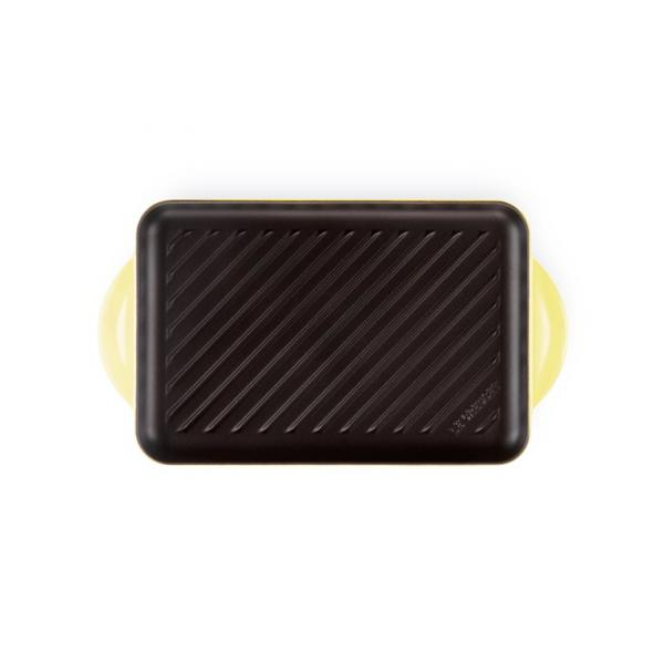 LE CREUSET Cast Iron rectangular grill 32 x 22 cm Yellow
