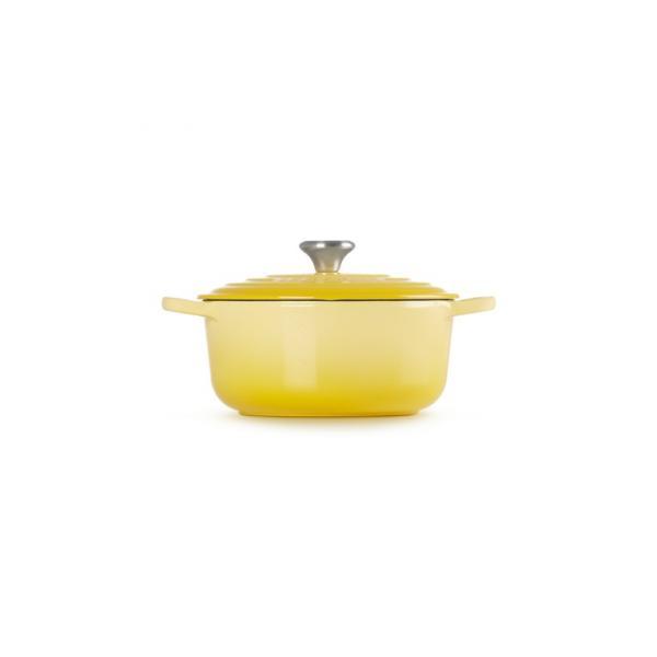 LE CREUSET Cast Iron Casserole 24 cm Yellow