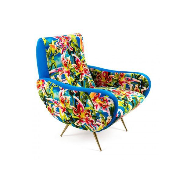 SELETTI Toiletpaper Armchair Flowers