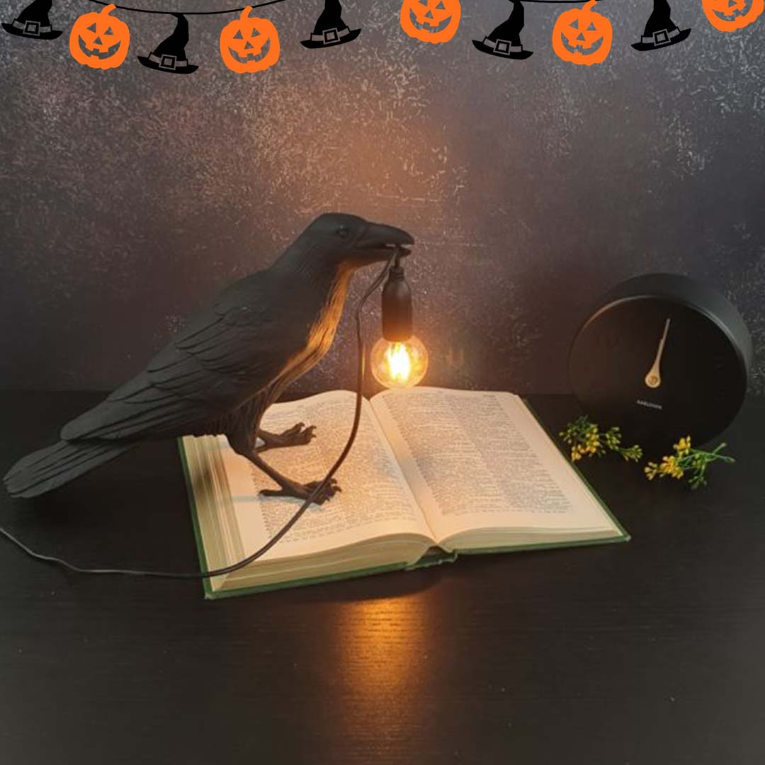 Seletti Raven Halloween