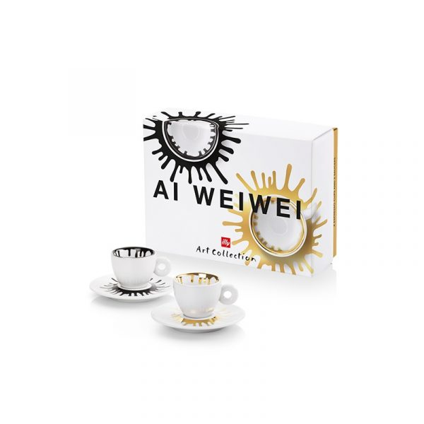 ILLY Coffee Cups Art Collection Ai Weiwei 2 pcs