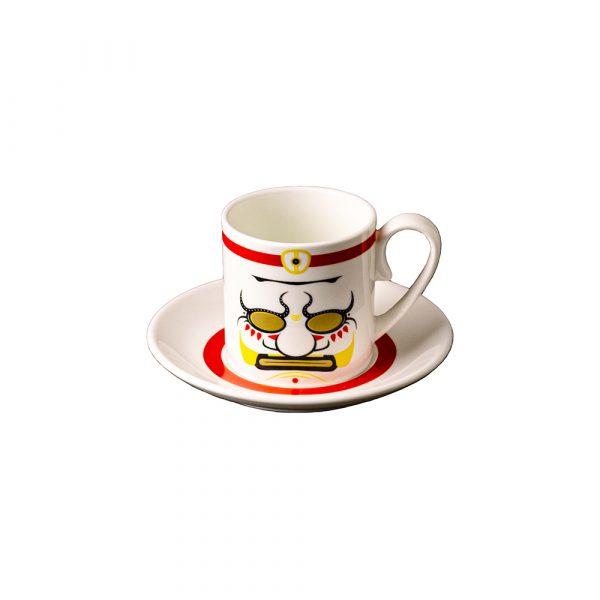 MANIFATTURA DI VENEZIA Ethnics Tazza Caffè con Piattino