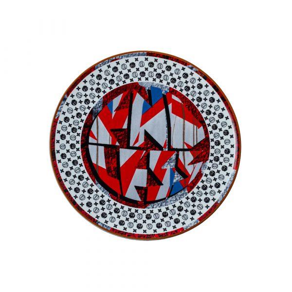 GEMINIANO COZZI Endless Piatto Dessert Endless Logo