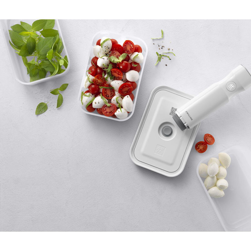 ZWILLING Set Contenitori Sottovuoto Fresh Save SML Bianco