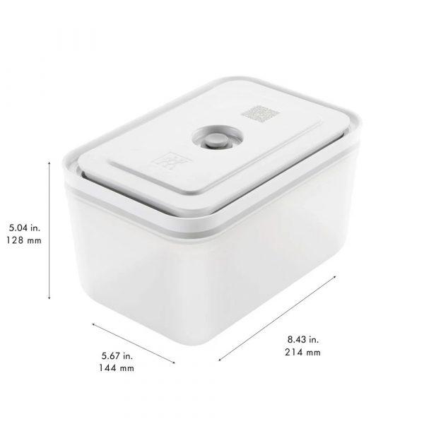 ZWILLING Vakuum-Verpackungsset Fresh&Save S-M-L Grau